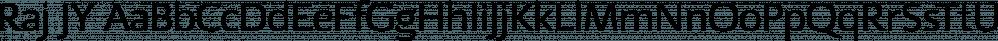 Raj JY font family by JY&A Fonts