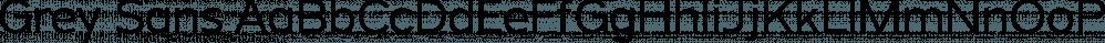 Grey Sans font family by Jason Vandenberg