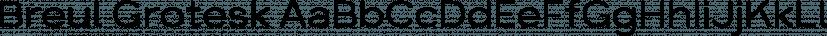 Breul Grotesk font family by Typesketchbook