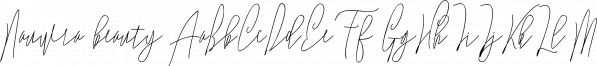 Nauwra beauty font family by RtCreative