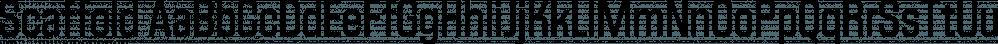Scaffold font family by Lafontype
