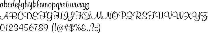 Melville Font Specimen