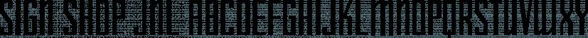Sign Shop JNL font family by Jeff Levine Fonts