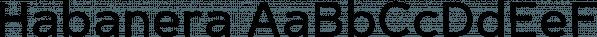 Habanera font family by Artegra