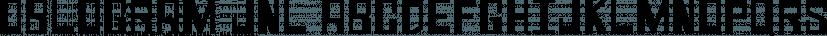 Oblogram JNL font family by Jeff Levine Fonts