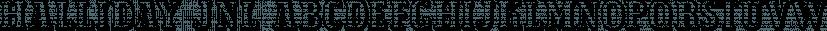 Halliday JNL font family by Jeff Levine Fonts