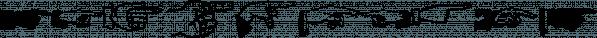 XPhyngern font family by Ingrimayne Type