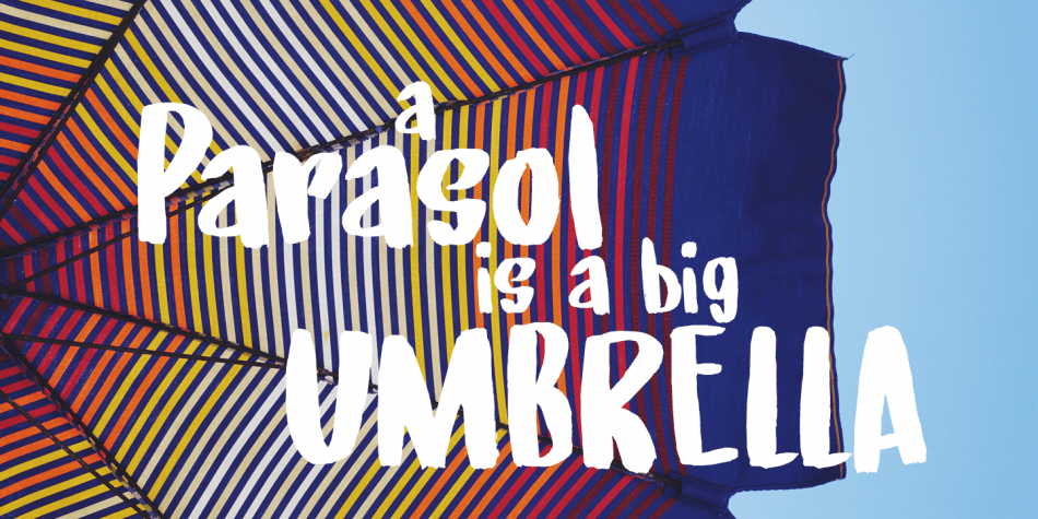 Download Under My Umbrella Font Family