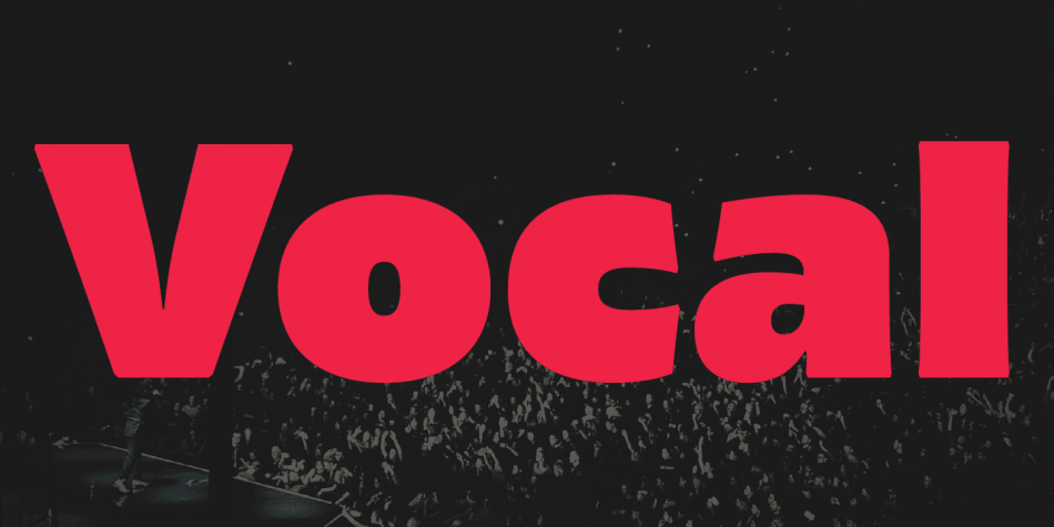 Download Vocal Font Family