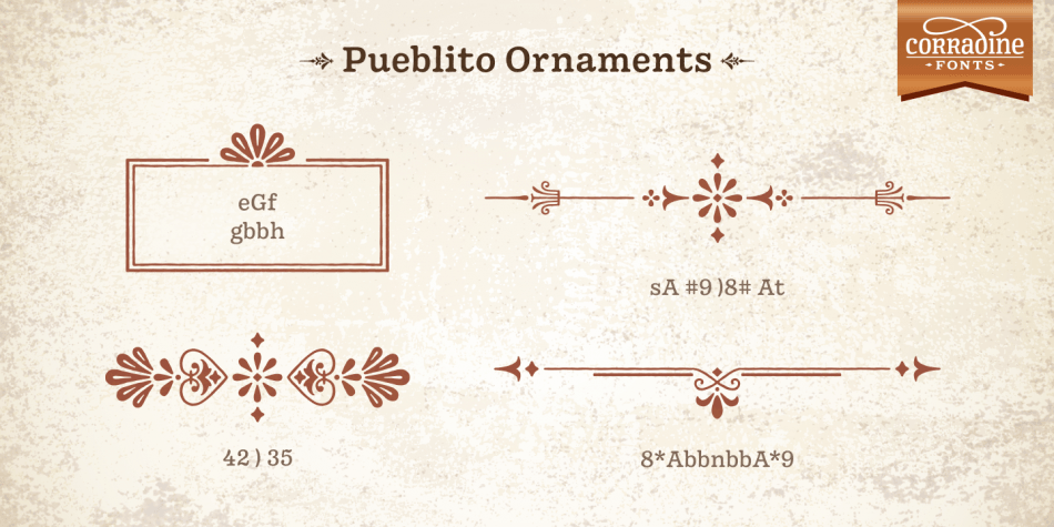 Download Pueblito Font Family