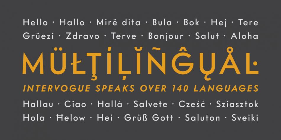 Download Intervogue Font Family