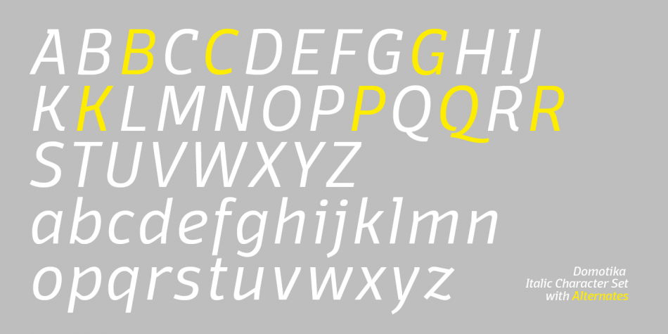 Download Domotika Font Family